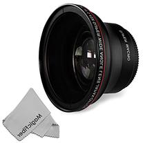 52MM 0.43x Altura Photo Professional HD Wide Angle Lens  for