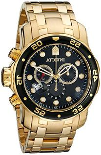 Invicta Men's 0072 Pro Diver Collection Chronograph 18k Gold