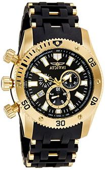 Invicta Men's 0140 Sea Spider Collection 18k Gold Ion-Plated