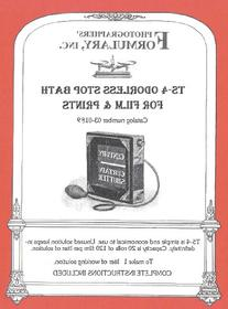 Photographers' Formulary 03-0189 TS-4 Odor-Free Stop Bath -
