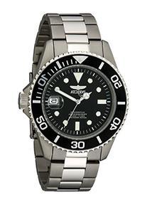 Invicta Men's 0420 Pro Diver Automatic Black Dial Titanium