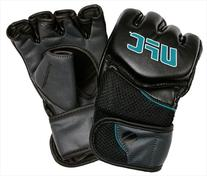UFC 14889P-053250 Womens Comp MMA Glove - Black & Turquoise