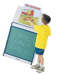 Rainbow Accents 0542JCWW180 Big Book Easel, Chalkboard,