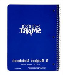 School Smart 086766 Spiral Bound Notebook, 1 Subject, 5-1/4