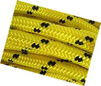"1/2"" By 100' Arborist Rigging Rope, Yellow"