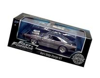New 1:24 W/B FAST & FURIOUS - BLACK CHROME DOM'S DODGE