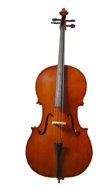 Merano 3/4 Size Natural Cello with Bag and Bow+Rosin+Extra