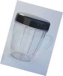 1 NutriBullet 18 OZ Handled Short Cup + 1 Stay Fresh