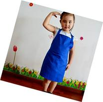 1 Pcs,Children kindergarten canvas painting canvas apron,