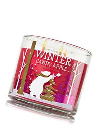 1 X Bath and Body Works Winter Candy Apple 3 Wick Scented