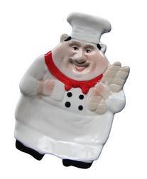 1 X Italian Chef Spoon Rest/Candy Dish