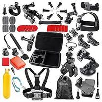 Neewer 44-In-1 Sport Accessory Kit for GoPro Hero4 Session