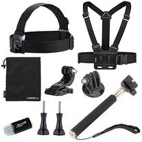 Luxebell Accessories Kit for Gopro Hero 5/4/3+/3/2/1/Session