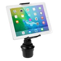 iKross Smartphone / Tablet Cup Mount Holder Car Cradle Kit - Black