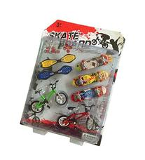 Fanci 7 in 1 Finger Skateboard Set Mini Finger Sports