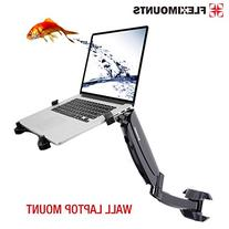 FLEXIMOUNTS M10 laptop wall Mount 2 in 1 LCD arm for most 11