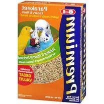 8-in-1 Pet Products: Bird Food Premium Parakeet, Canary,