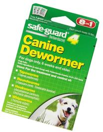 Safe Guard Canine Dewormer For Small Dogs