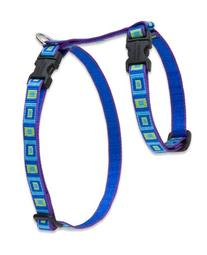 "LupinePet 1/2"" Sea Glass 9-14 H-Style Pet Harness"