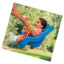 Little Tikes 2-in-1 Snug N Secure Swing - Blue