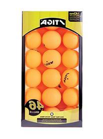 Stiga Table Tennis Balls , Orange, 46-Pack