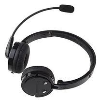 AGPtek® 2 in 1 Stereo Handsfree Headset Boom Mic Noise
