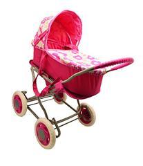 Lollipop Girls 3 in 1 Stroller With Doll Pram
