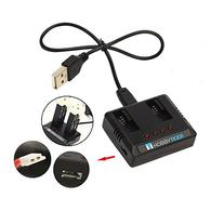 HOBBYTIGER 2-in-1 USB Battery Charger for Hubsan X4 Cam Plus