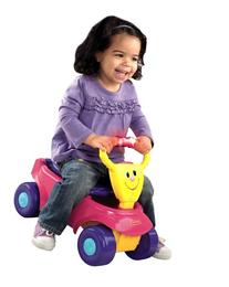 Fisher-Price 2-in-1 Infant Wagon Rider, Pink