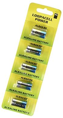 10 4LR44 6V Alkaline Batteries for Dog Shock/Training