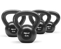10, 15 lbs, 20 lbs and 25 lbs Solid Cast Iron Kettlebell