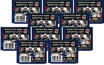 10  Packs of 2015 NFL Sticker Collection Football Cards - 10