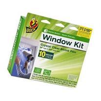 Brand 62-Inch by 420-Inch 10-Window Shrink Film Window
