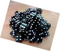 Discount Learning Supplies 100 Black Dice - 16MM