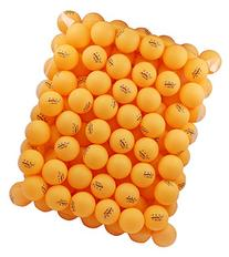 MAPOL 100 Counts 3-Star Orange Practice Ping Pong Balls