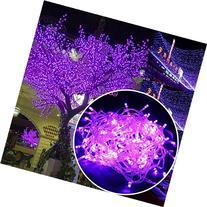 Autolizer 100 LED PURPLE Fairy String Lights Lamp for Xmas