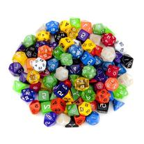 Wiz Dice Random Polyhedral Dice in Multiple Colors  Bundle