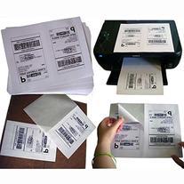 MFLABEL 1000 Half Sheet Laser/Ink Jet Shipping Labels for