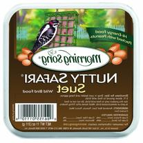 Morning Song 11358 Nutty Safari Suet Wild Bird Food, 11-