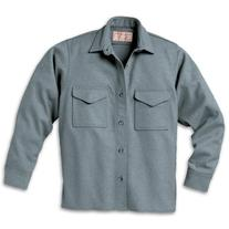 Filson 10047GY Wool Jac Shirt - Gray