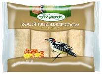 Morning Song 1022446 Woodpecker Suet Plugs Wild Bird Food,