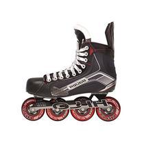 Bauer 1047264 Senior Vapor X500R Roller Hockey Skate, Black