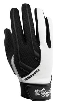 Rawlings 1050 Workhorse Youth Batting Gloves, Black, Small