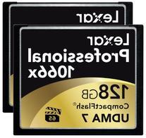 Lexar Professional 1066x 128GB CompactFlash Card