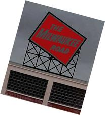1072 Small Model Milwaukee RR Animated Lighted Sign by