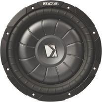 "Kicker CVT124 12"" Single 4 ohm Shallow-Mount CompVT Series"