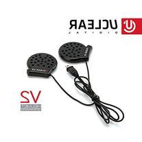 UCLEAR Digital 11015 V2 Wired Speaker Set for Full Face