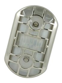 GE 11466 Motion-Activated Led Night Light, Brushed Nickel,
