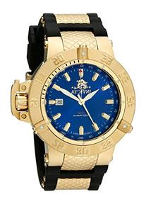 Invicta Men's 1150 Subaqua Noma III GMT Blue Dial Black