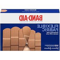 Johnson & Johnson 11507800 Flexible Fabric Adhesive Bandages